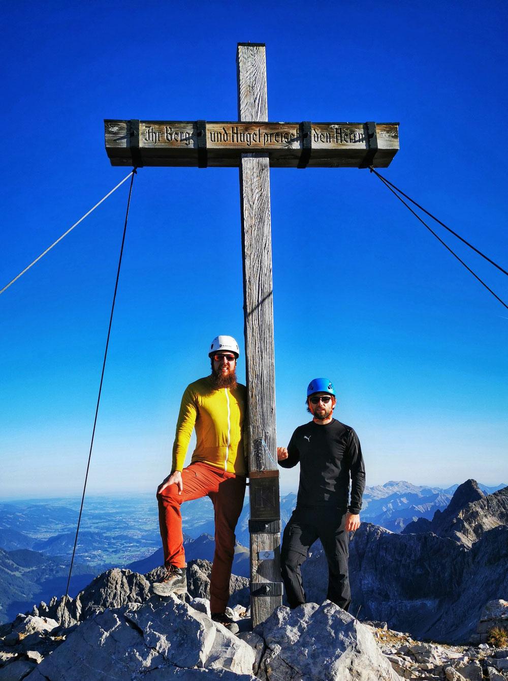 Am Gipfel des Hohen Lichts (2.651m)