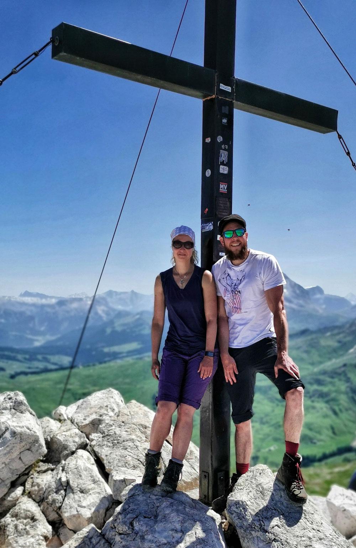 Am Gipfel des Schlern