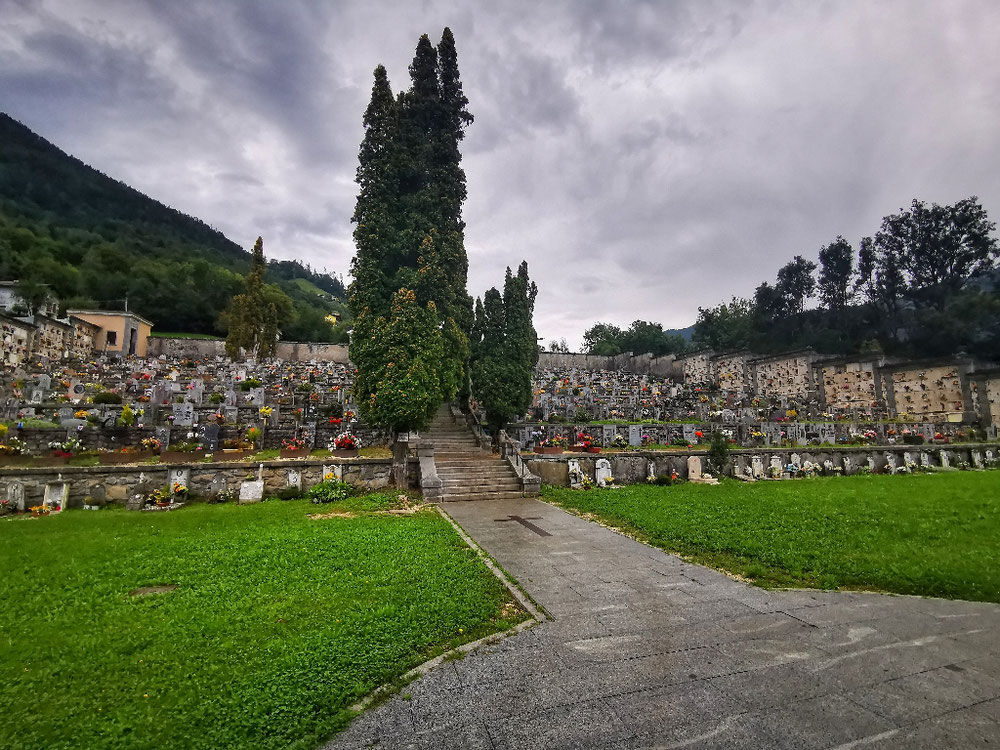 Friedhof in Bagolino