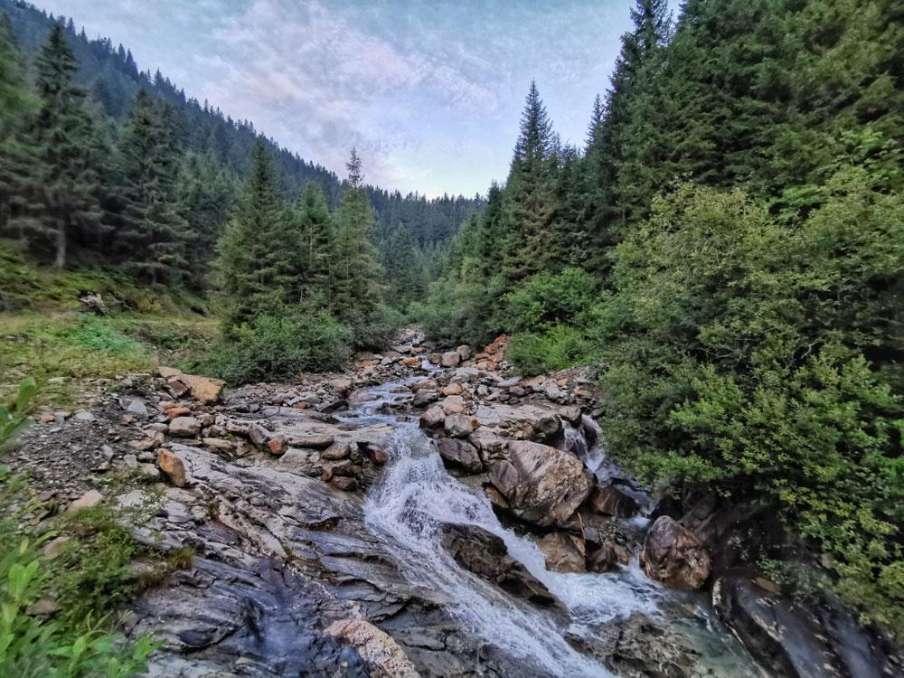 Erster Wasserfall am Wasserfallweg