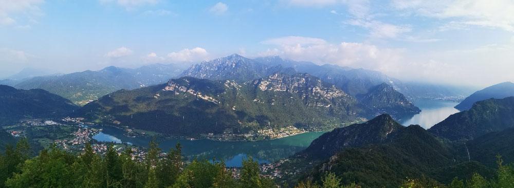 ... auf den gesamten Lago d'Idro