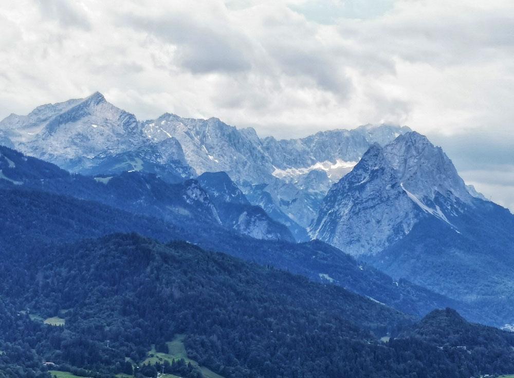 Die Zugspitze 2.962m