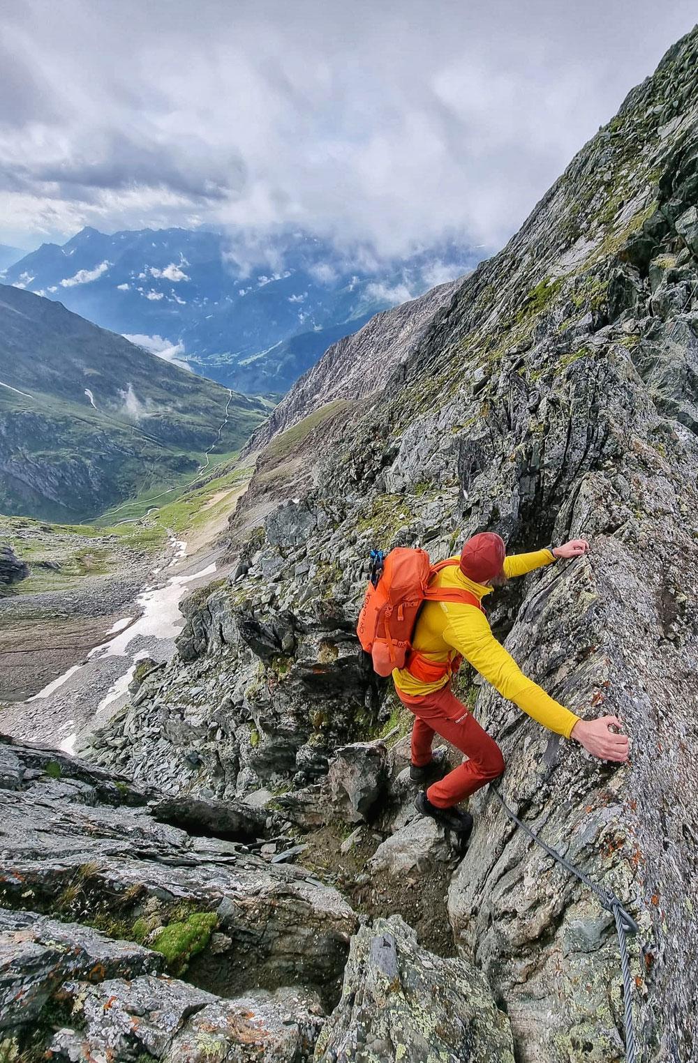 Klettererei an der Tulpspitze