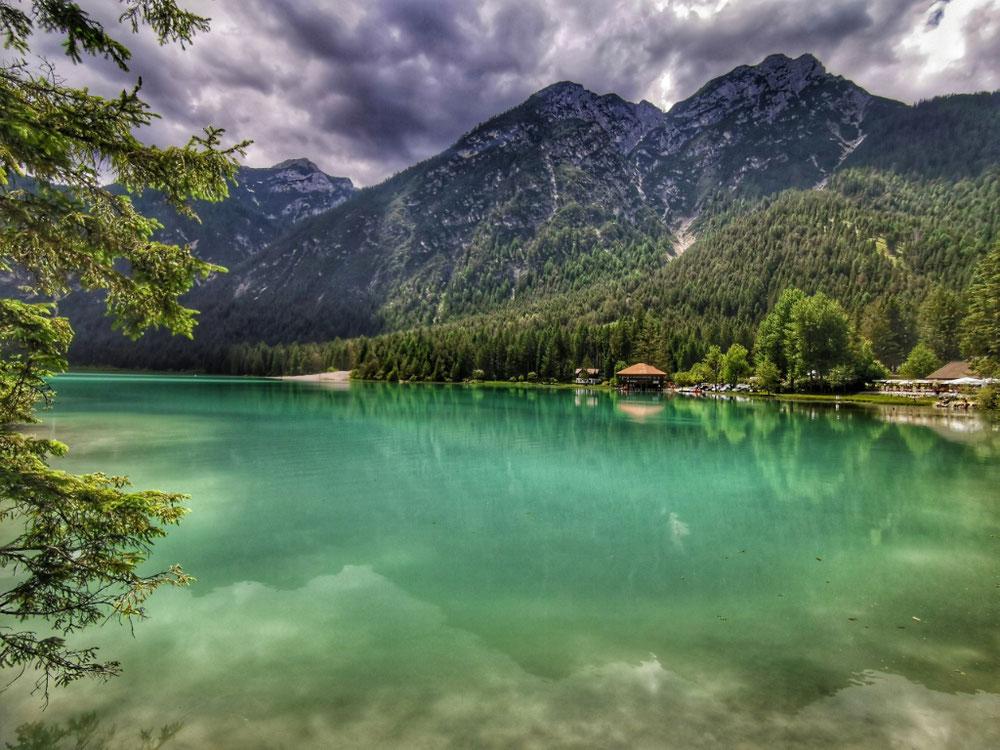 Traumhaft blaues Wasser