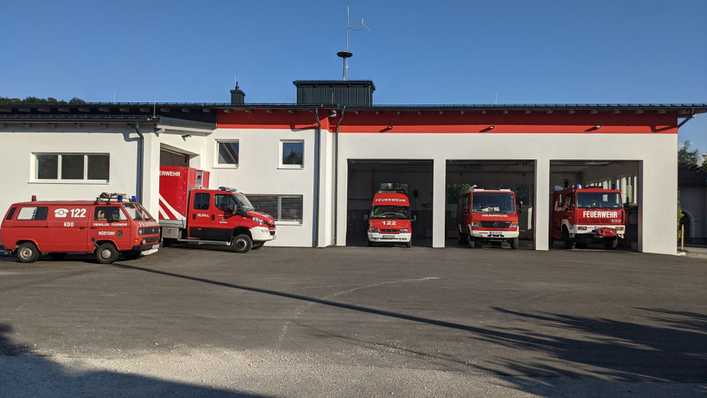 Unser neues Feuerwehrhaus 2021