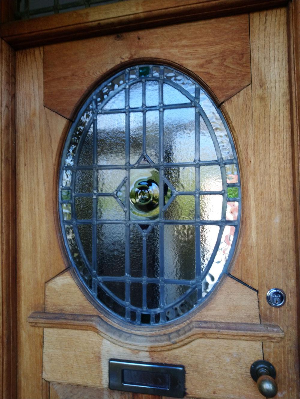 Finished Door Restoration.