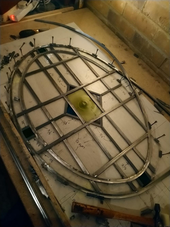 Repair and Releading panel in progress.