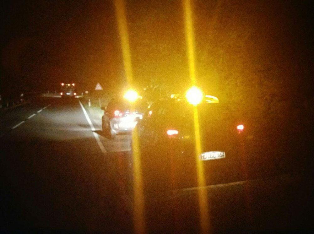 Unsere Einsatzfahrzeuge gemeinsam im Nachteinsatz