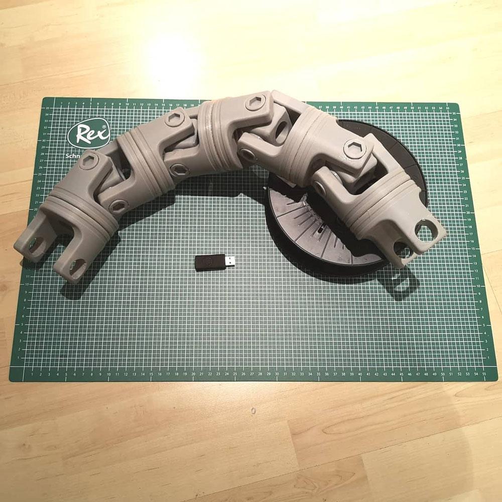 ABS Druck (FDM) - Modell für Cosplay