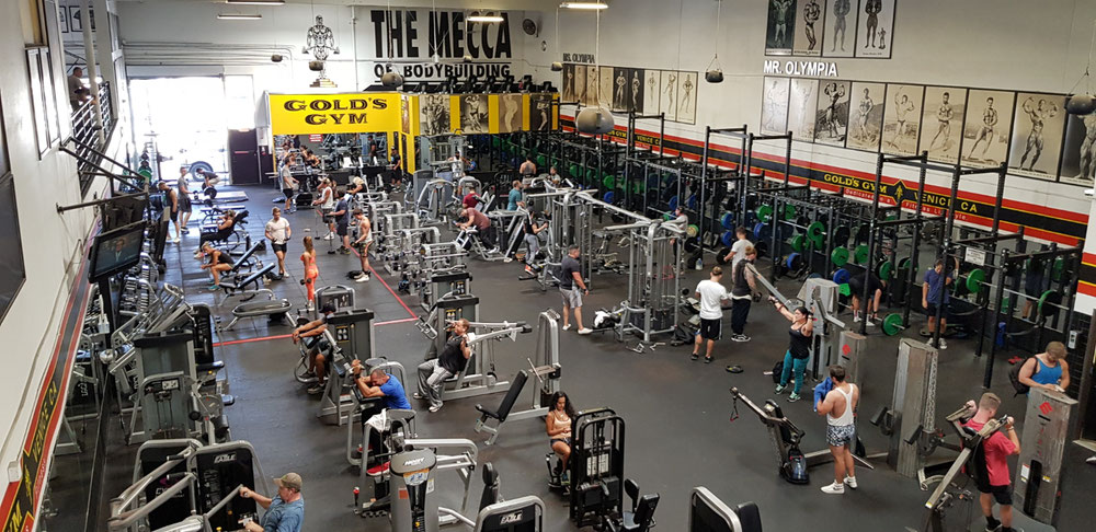 Golds  Gym Venice Beach
