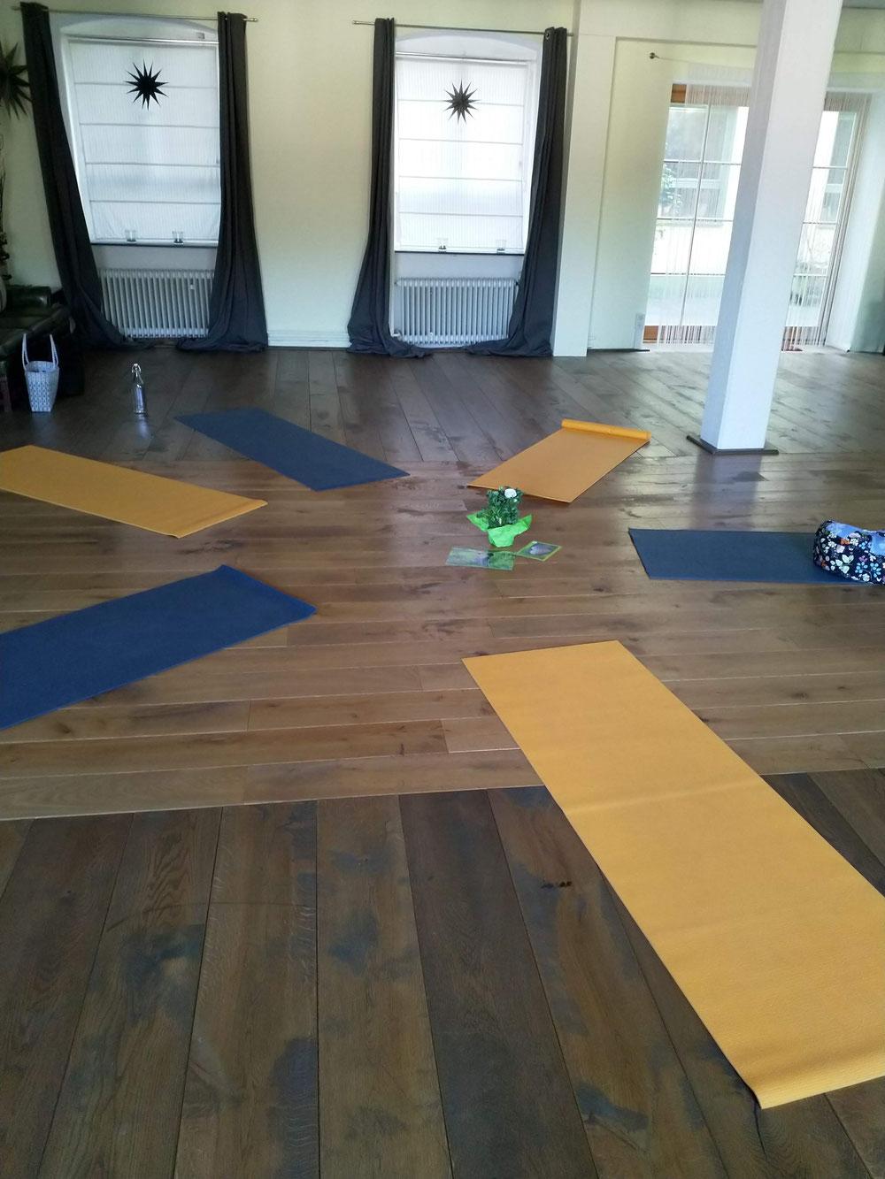 das sagen Teilnehmer zu Yoga Unterricht von wood-yoga