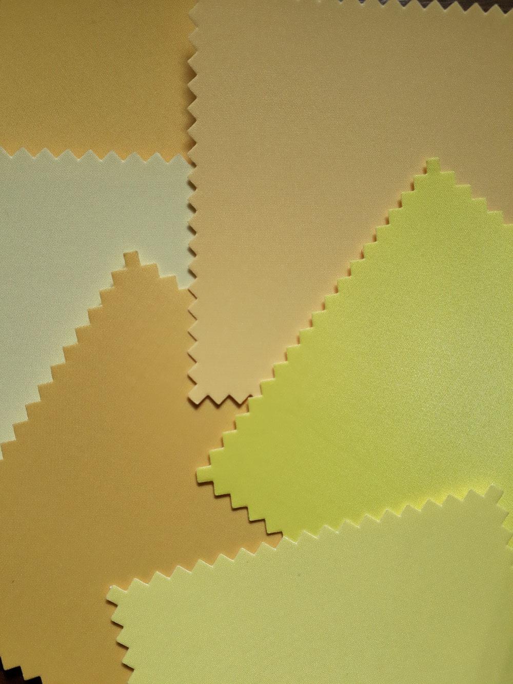 Vele verschillende kleuren geel