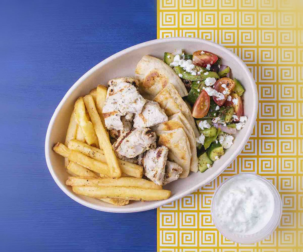Fact Box   Offer: Go! Greek  Price: Summer Body Grilled Platter is AED 49  Venue: Go! Greek by Cloud Restaurants  Location: Deliveroo  Time 10AM-10PM