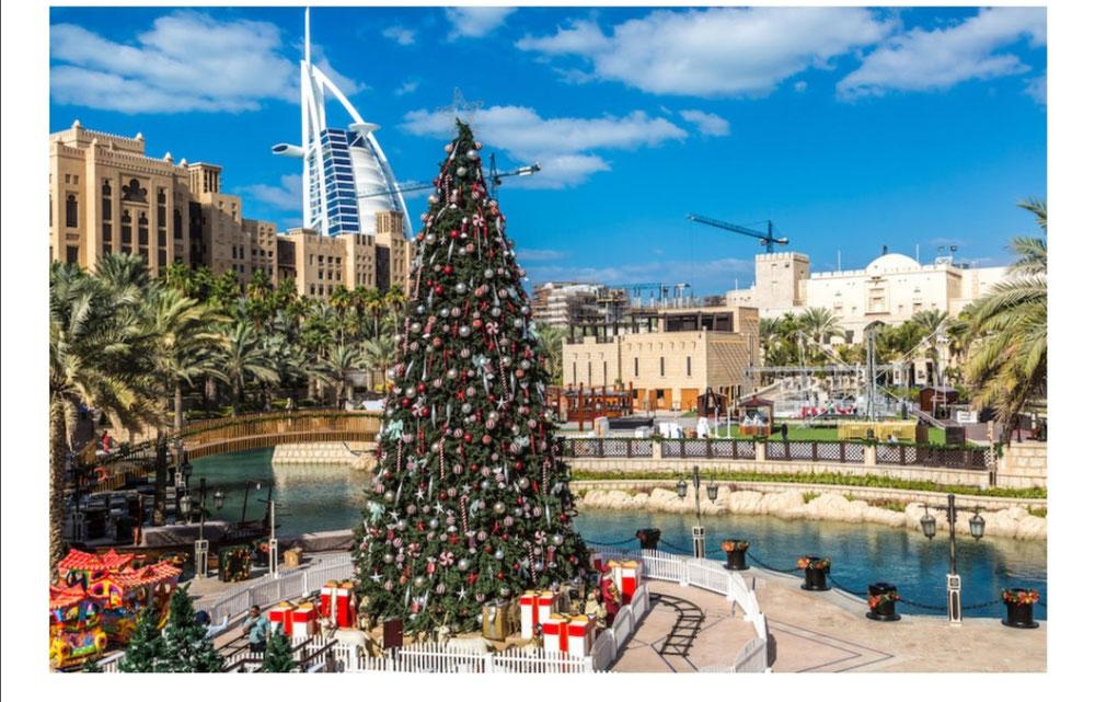 دبي تحتل المرتبة الرابعة على قائمة أفضل الوجهات العالمية للاستمتاع بموسم الأعياد واحتفالات العام الجديد