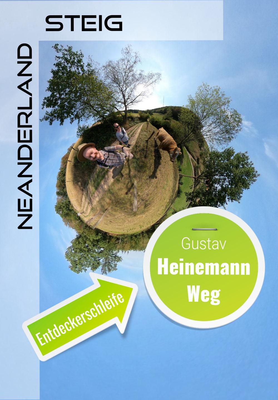 """Entdeckerschleife """"Gustav-Heinemann-Weg"""""""