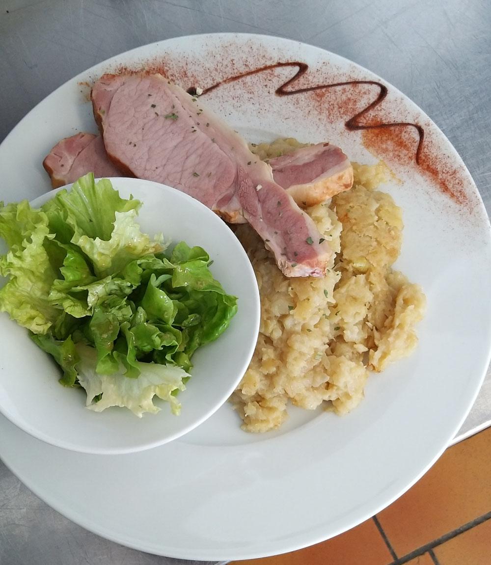 Notre tofaille viande fumée😀