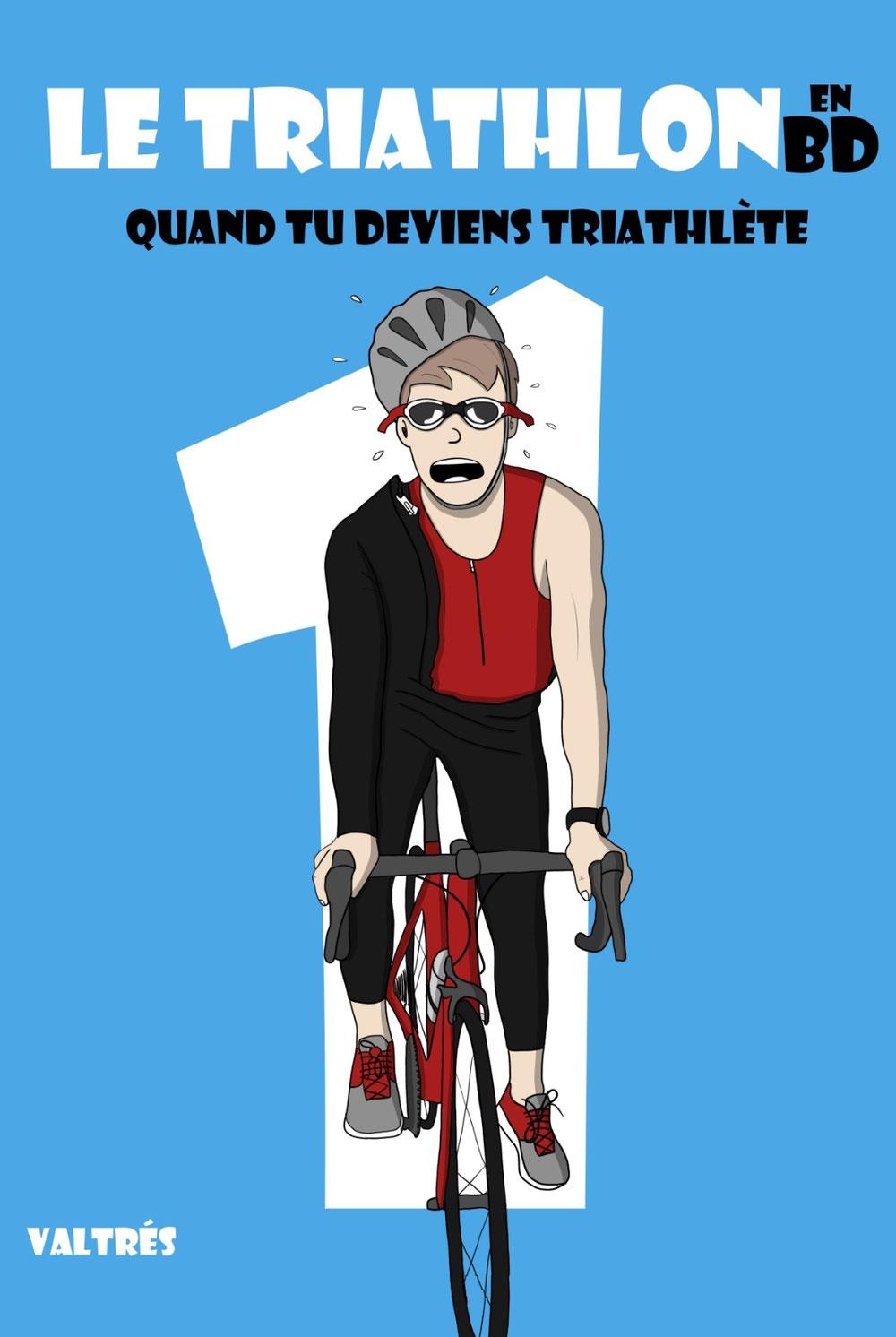 Le triathlon en BD, tome 1