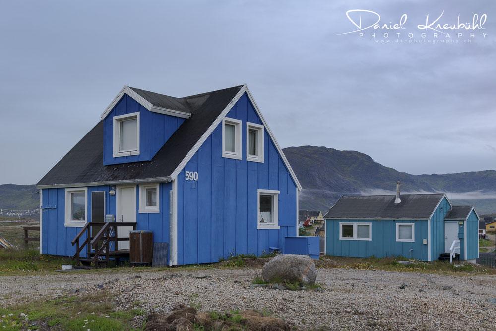 House in Narsaq, Greenland, www.dk-photography.ch, Photographer: Daniel Kneubühl