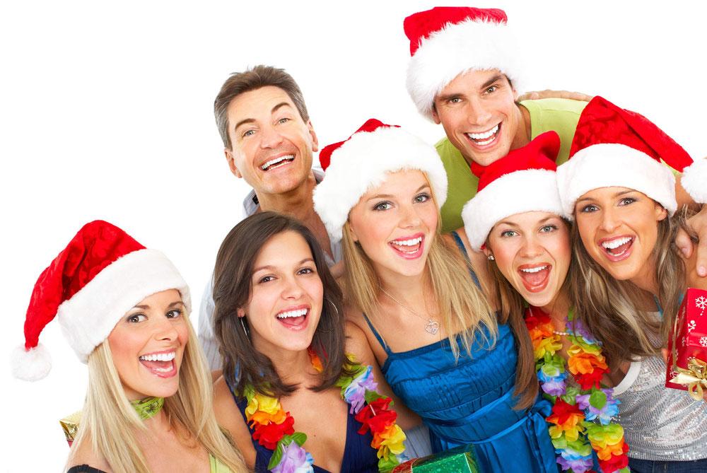 Hier finden SIe Weihnachtsfeier Angebote mit verschiedenen Rahmenprogrammen
