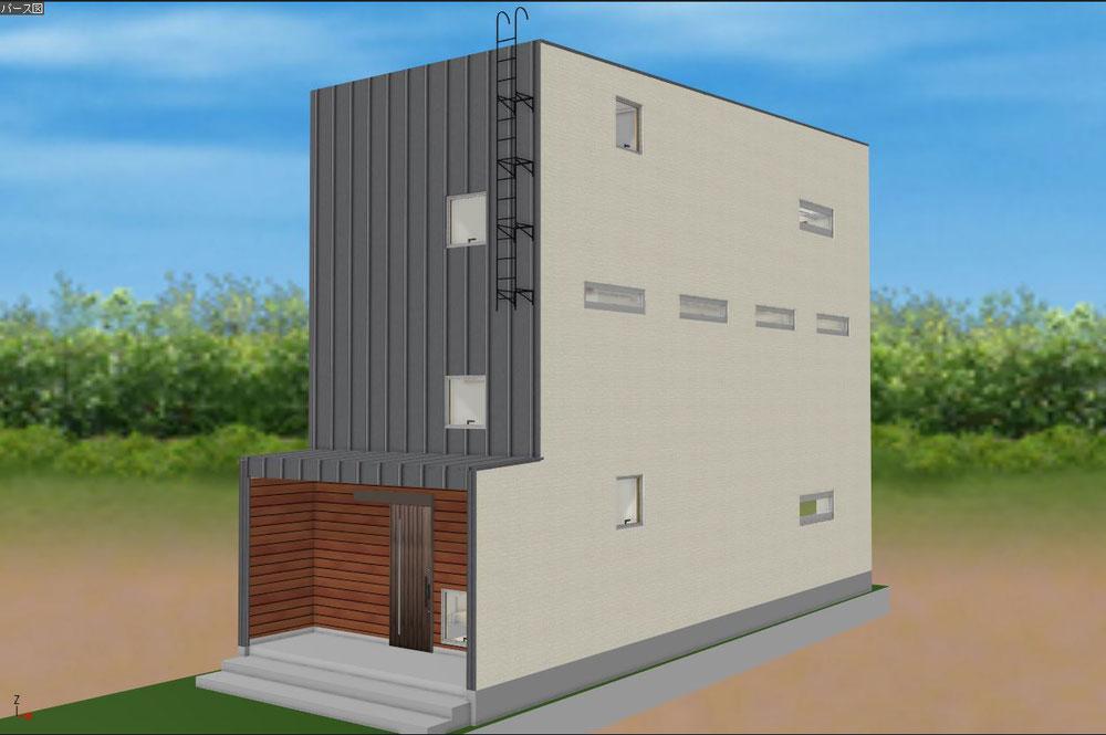 狭小地モデルハウス