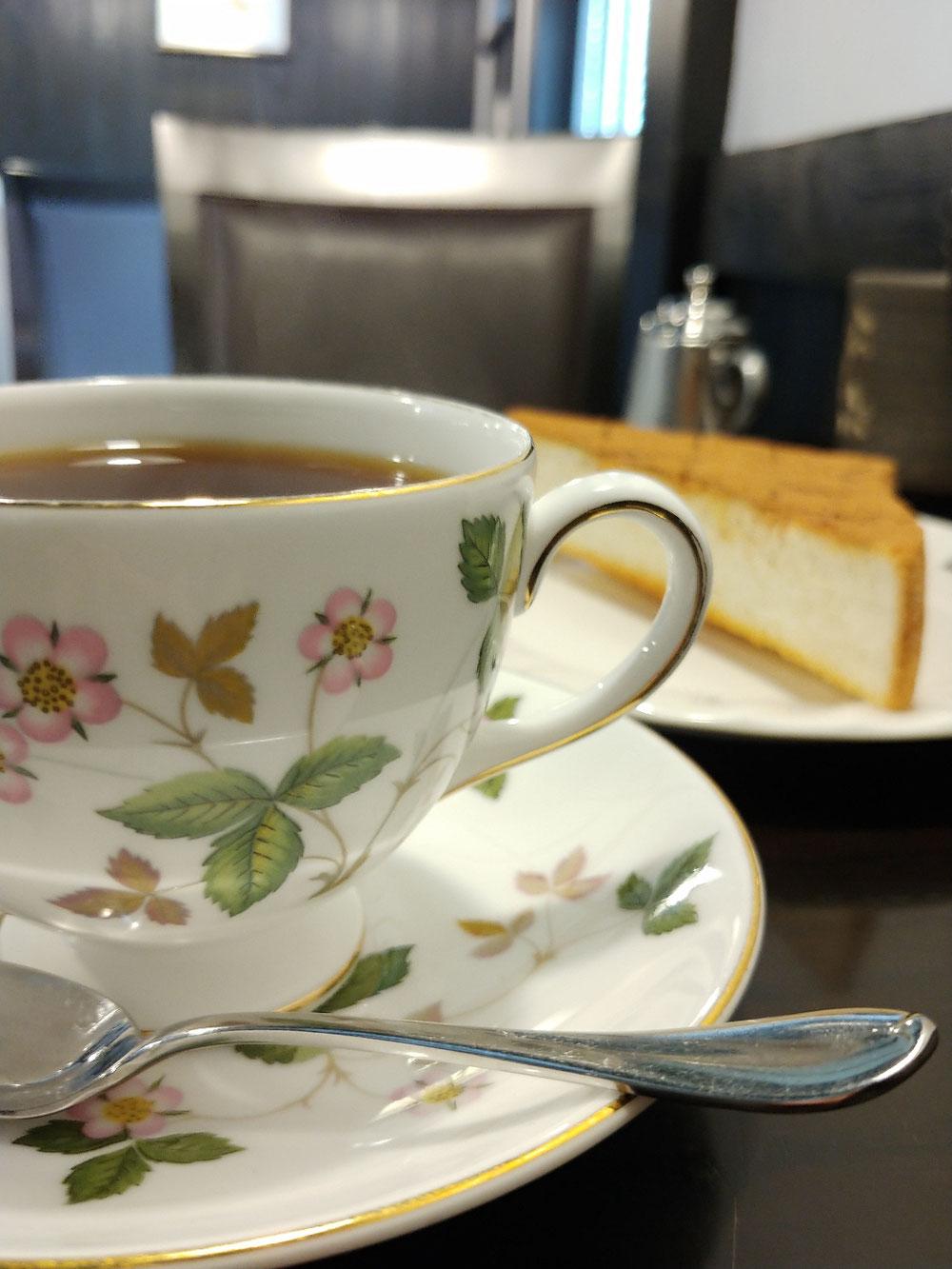 袋井 シナモントースト コーヒー