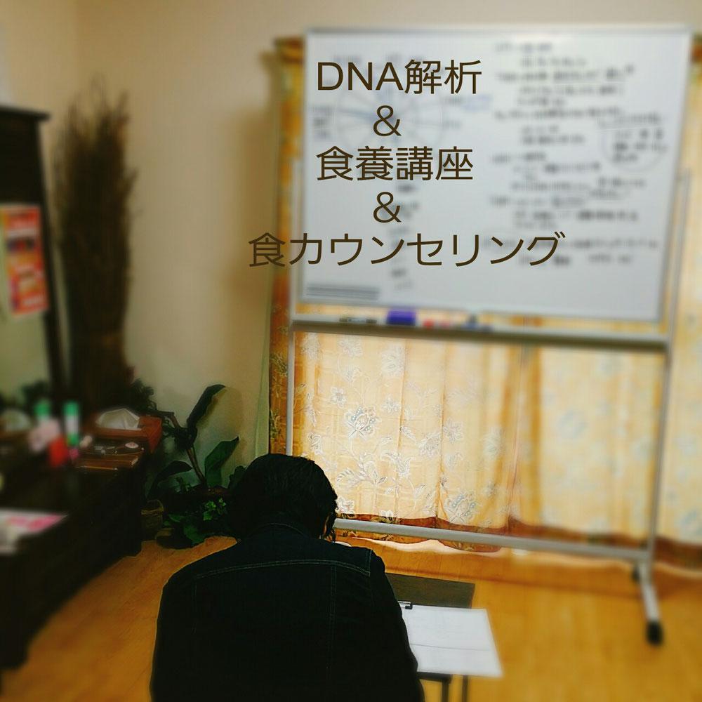 DNA解析 袋井エステ 健康&食養講座 食カウンセリング