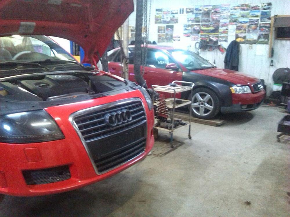 Audi days