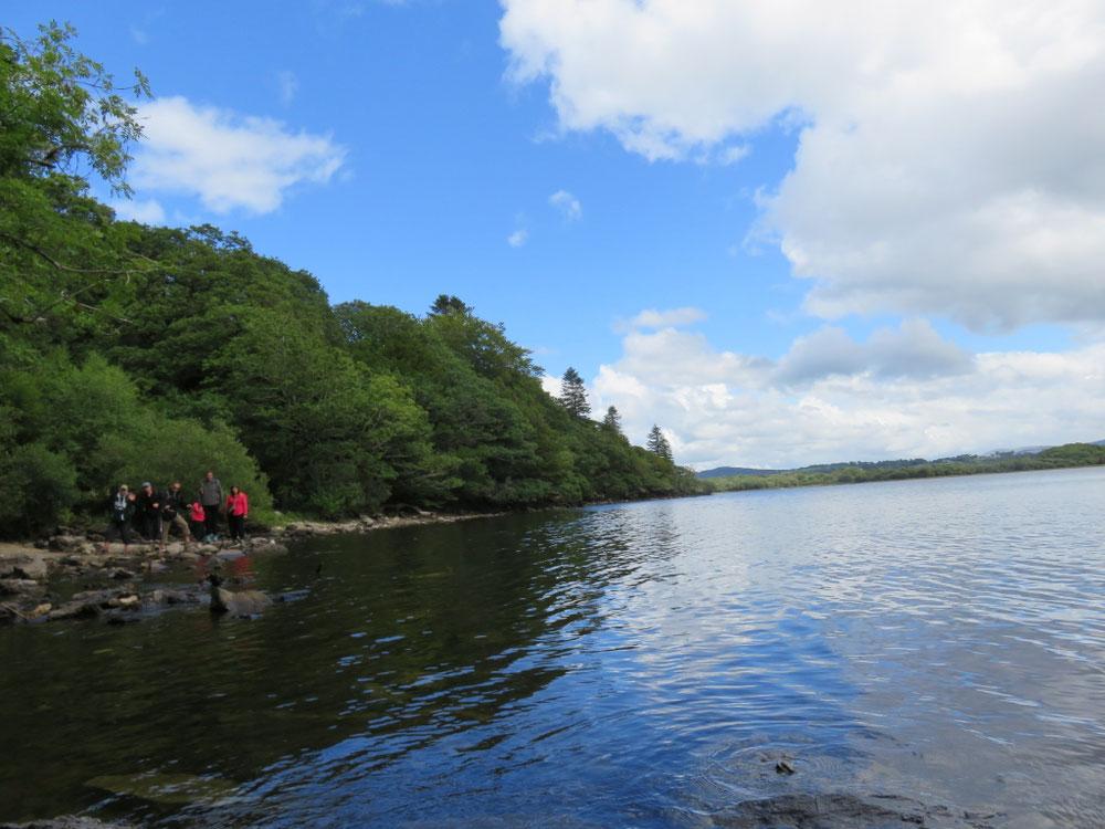 Toujours au lac de Killarney