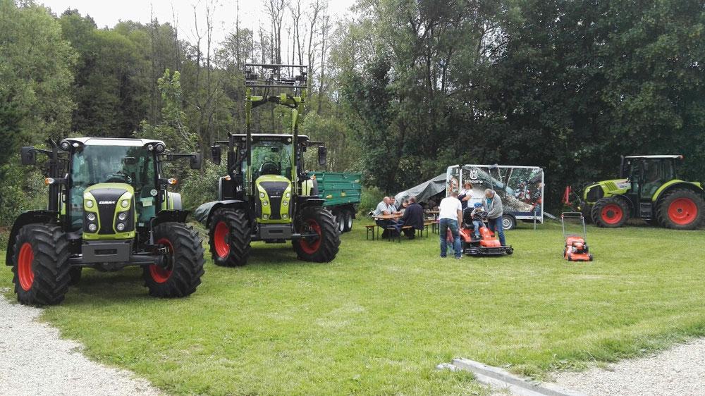 Maschinenausstellung Müller Landtechnik