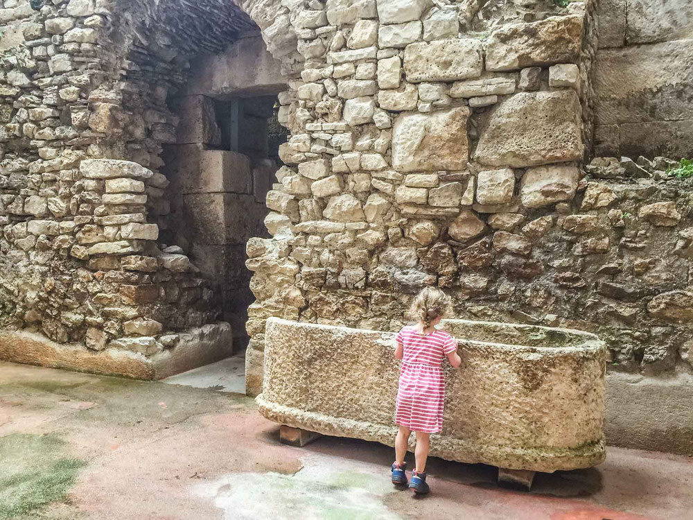 Split Croatia Palace Substructures from Game of Throne's with kids