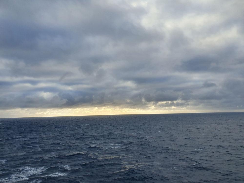 ...und dann nur noch offenes Meer