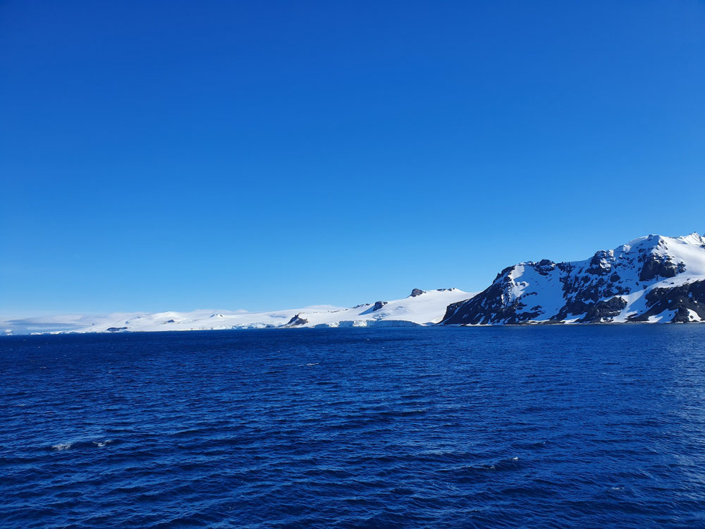 Shetland Inselgruppe, unsere erste Station