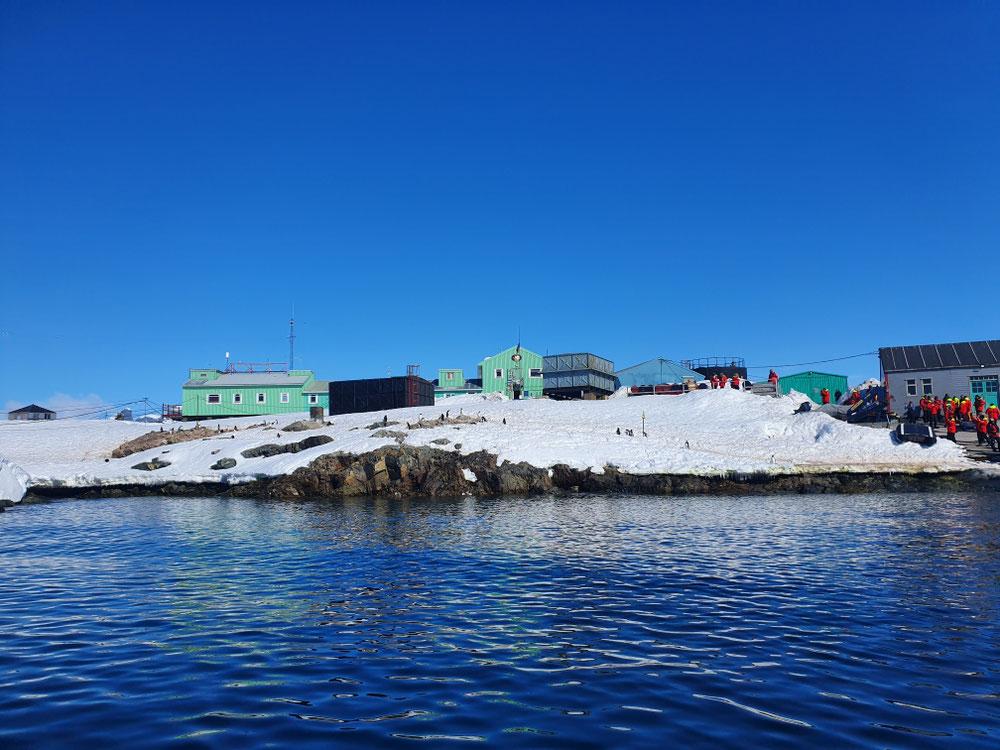 Hier wurde das Ozonloch entdeckt...heute von Pinguinen besetzt