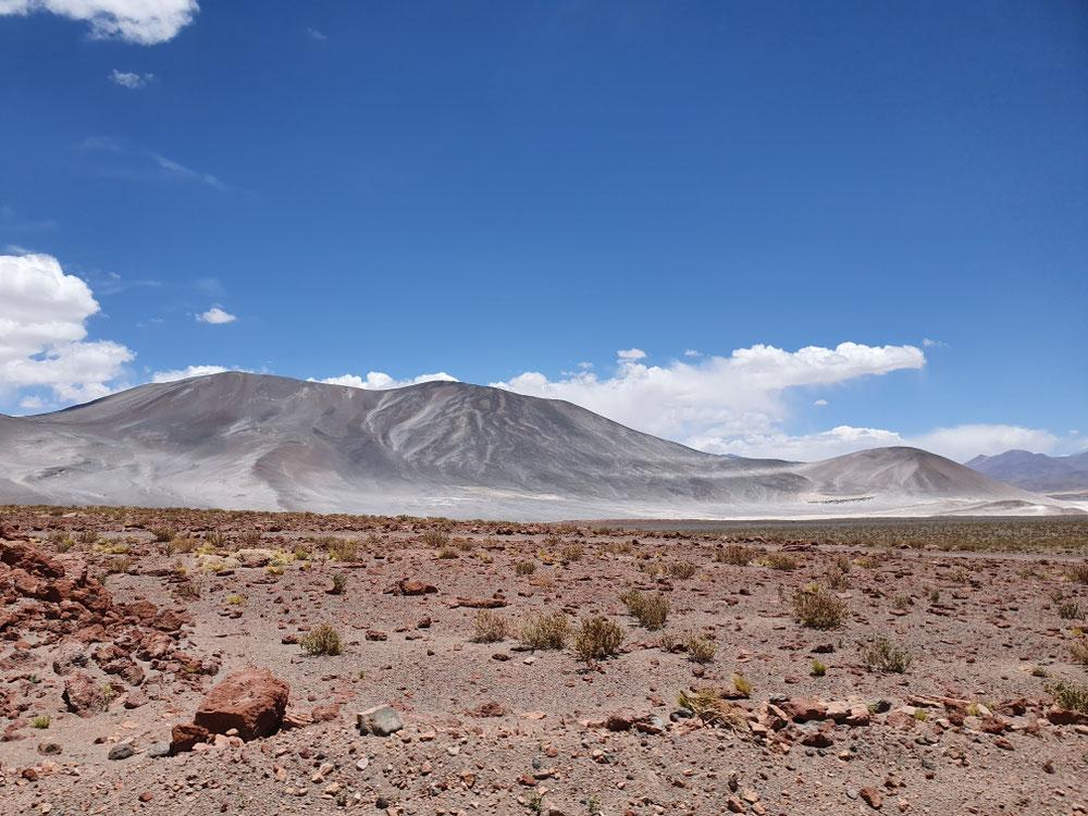 Sooo viele Vulkane, kegelige, flache, aktive, verloschene - und alle über 5000 m hoch