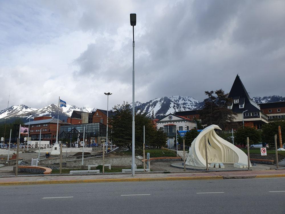 Denkmal für die unbekannte Merengue in Ushuaia