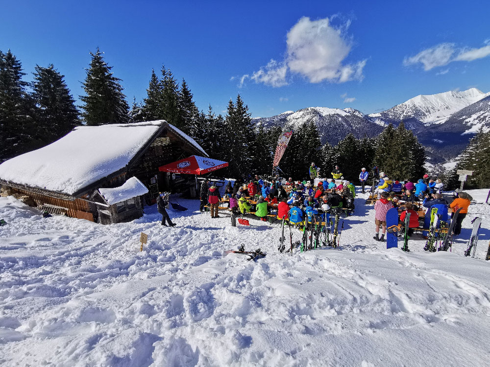 5 Jahre Hornhütte Russbach mit Blasi! Mit einer Bergmesse und Musik wurde heute bei herrlichem Wetter gefeiert!