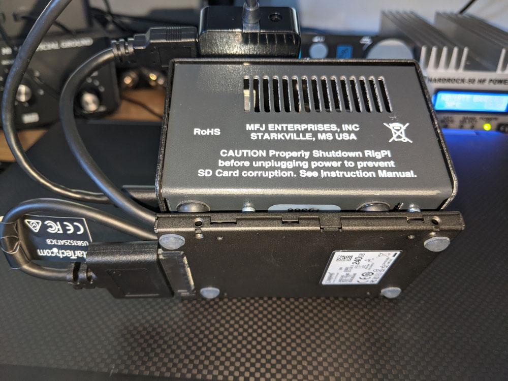 MFJ1234 RigPi SSD