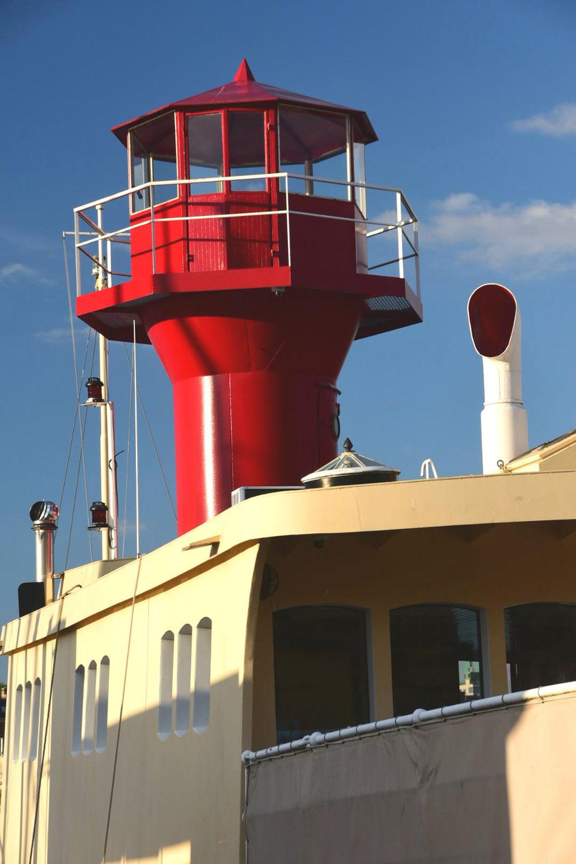 Einen Leuchtturm habe ich Stockholm zwar nicht entdeckt, dafür aber zwei Feuerschiffe in den Museumshäfen der Stadt