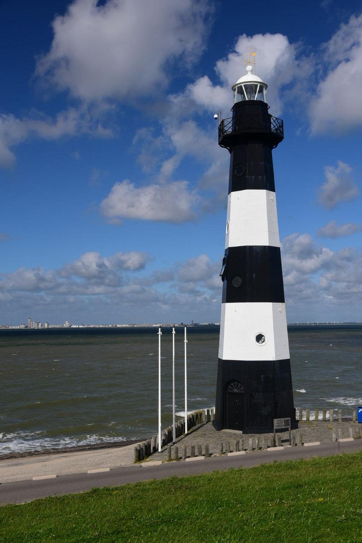 Noch ein Leuchttrum und dann bin ich auch schon durch die Niederlande durch