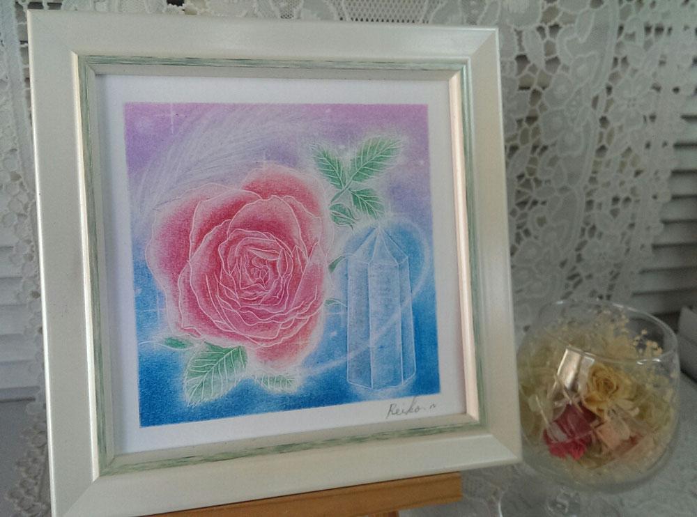 薔薇+クリスタル