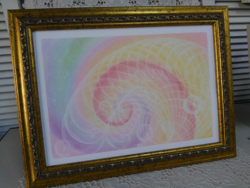 本番アート、色が気に入った🎵