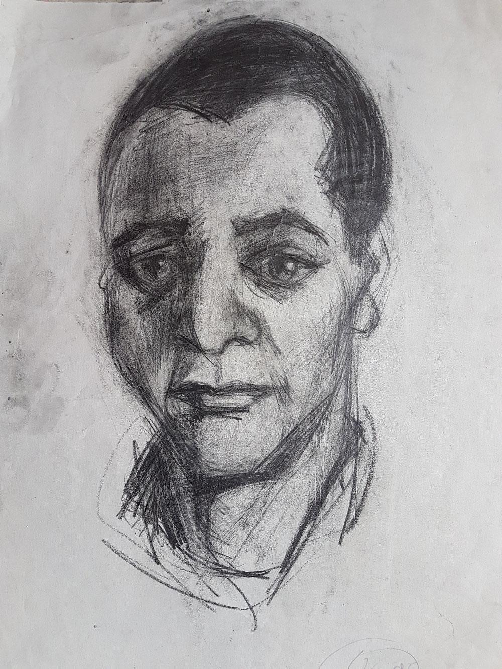 Lutamyo, Bleistift auf Papier, 1994