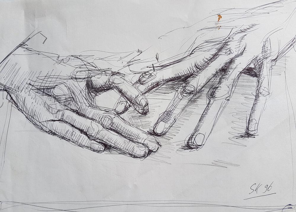 Die Hände meiner Mutter II,