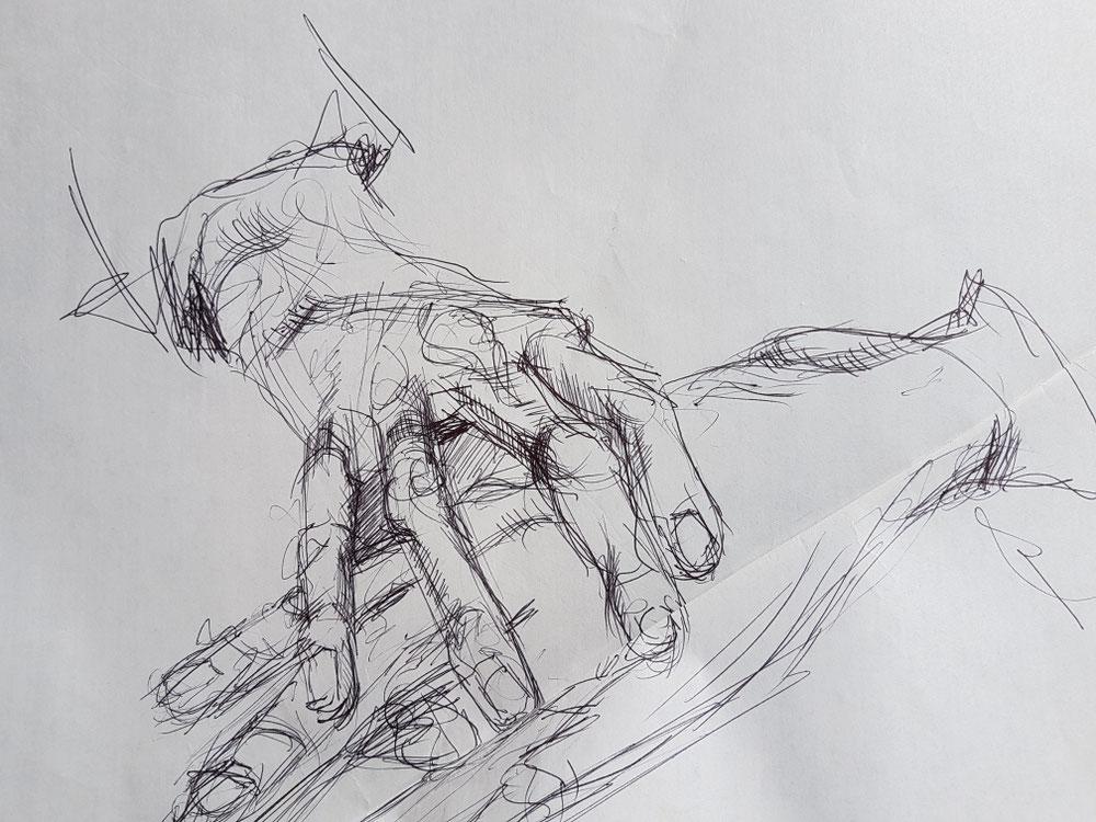 Die Hände meiner Mutter III