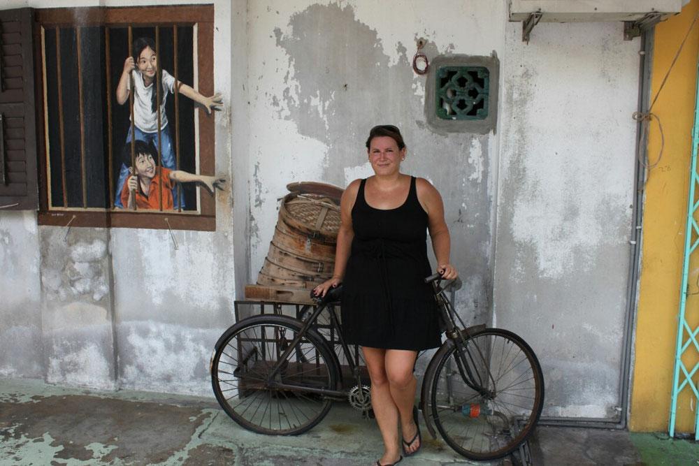 Streetart in Penang