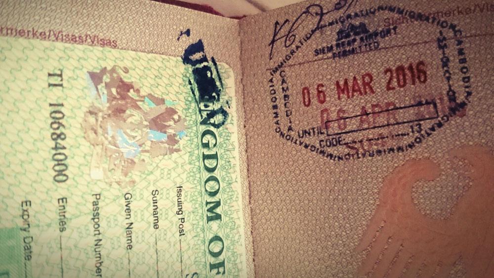 Visa Kambodscha