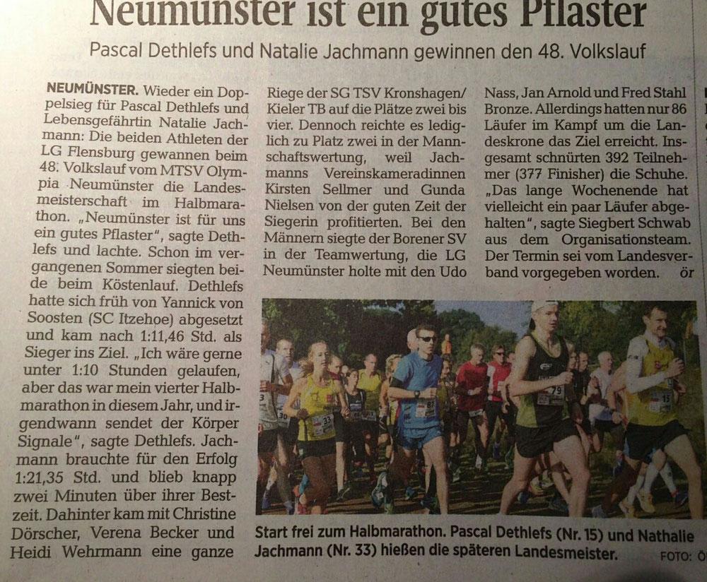 LM Halbmarathon Neumünster
