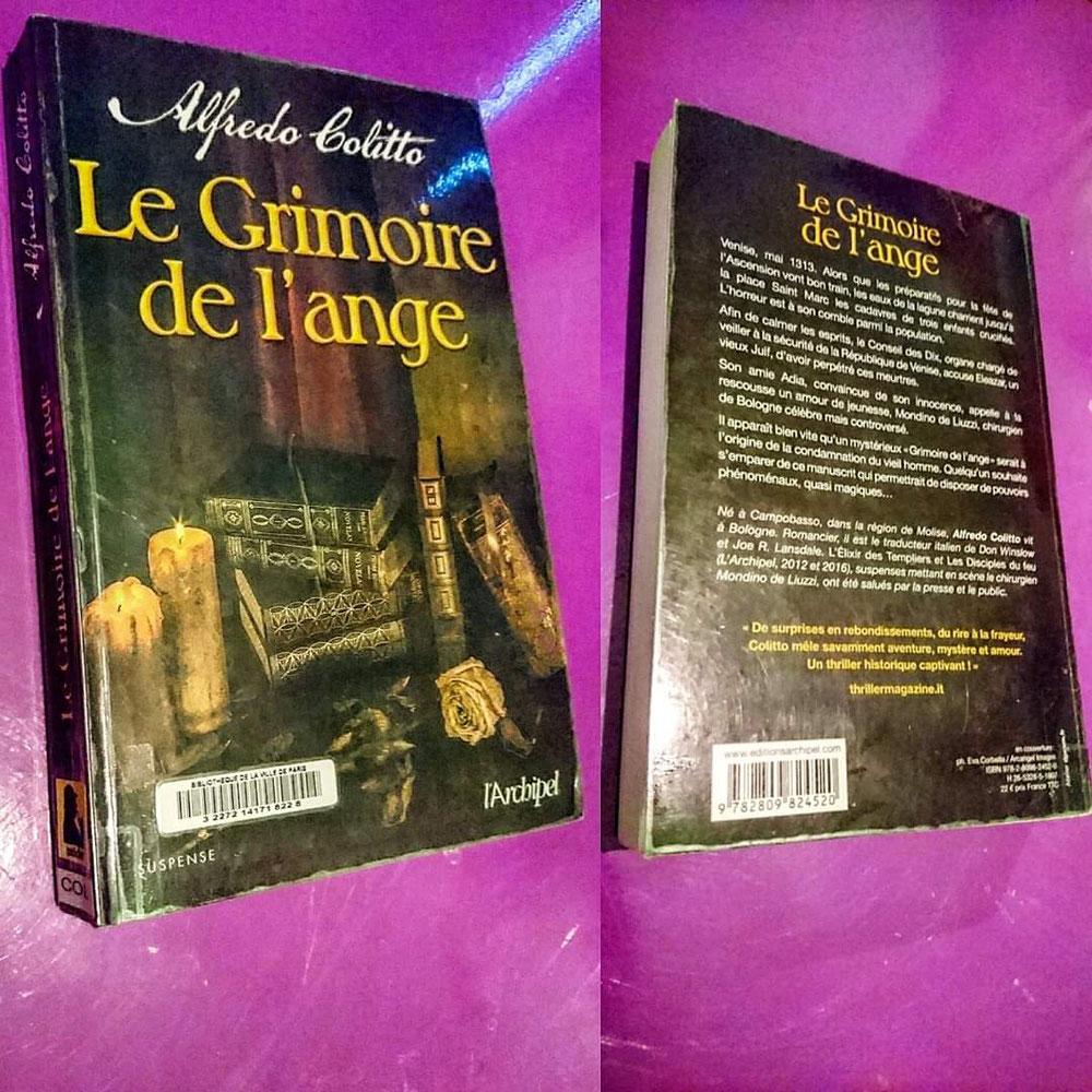 ''Le grimoire de l'Ange'' di Alfredo Colitto