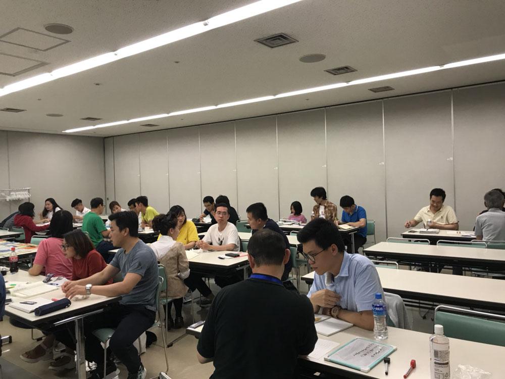 2018.6/22(土)の授業風景