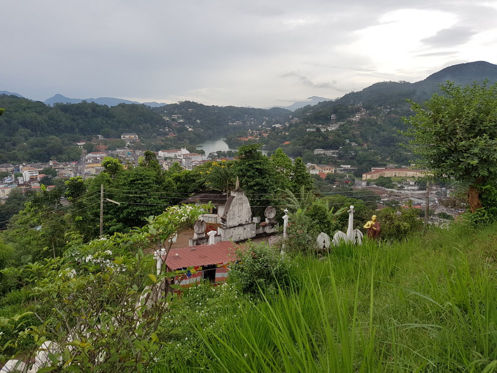 Blick vom Buddha-Berg